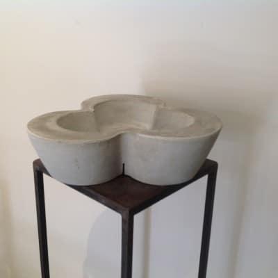 vaso in cemento