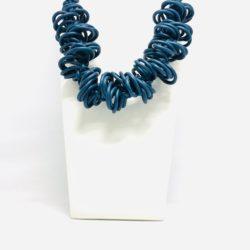 collana neoprene blu