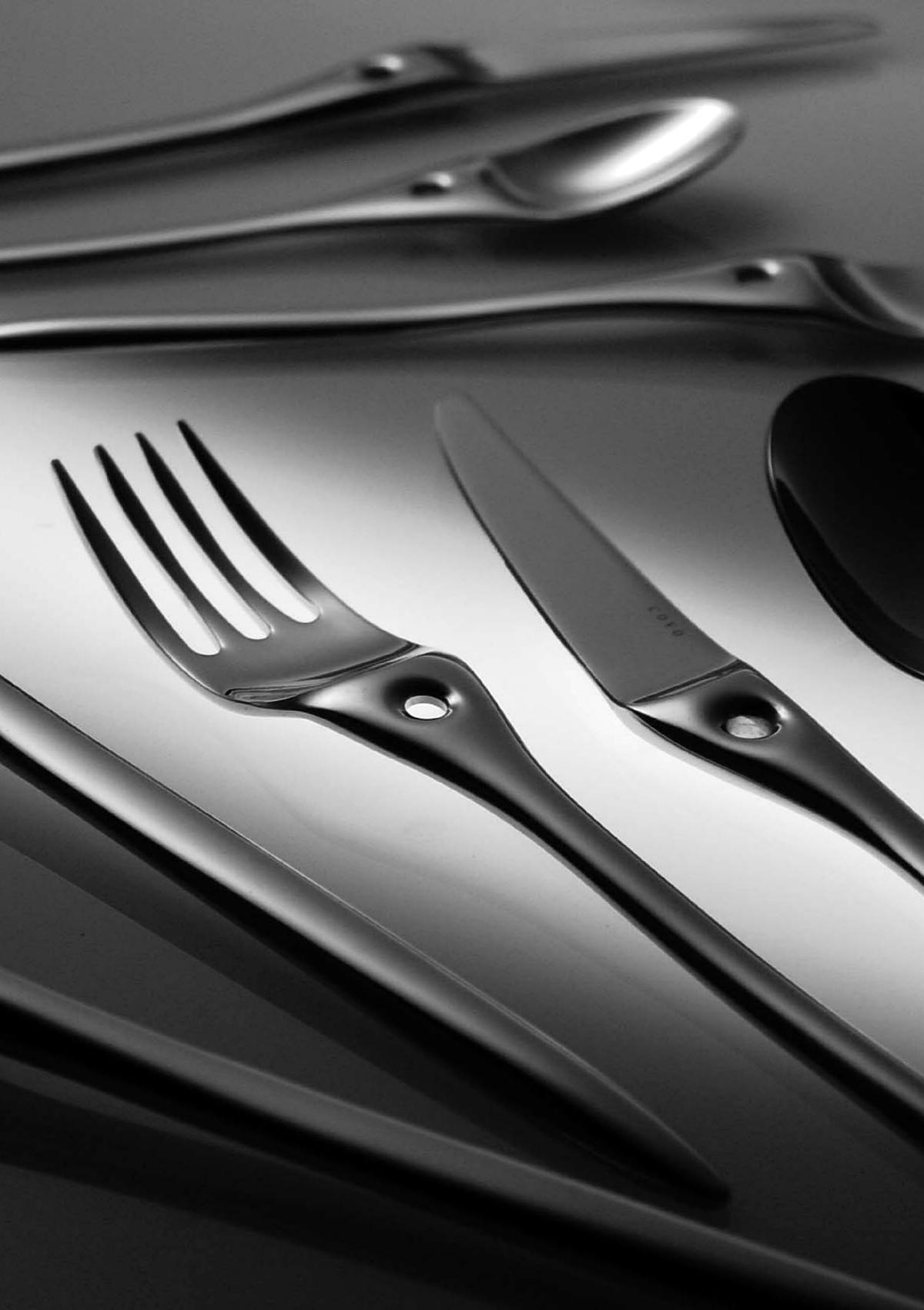 Collezione tableware posate MORODE di COVO