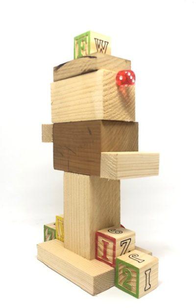 robot in legno